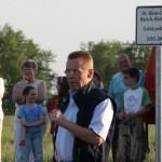 """Hans-Georg beim Anstimmen """"Holt Wisse"""""""