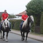 Oberst und Leutnant zu Pferde